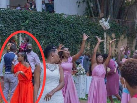 People saw Pictures of A wedding Celebration see what they noticed from the Lady in Red (Opinion)