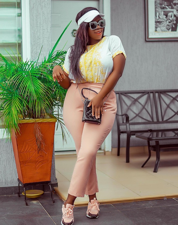 fde603fd90b36df37787ae3cc8684a53?quality=uhq&resize=720 - God of wonders: See how Tracey Boakye transformed after establishing herself (+Photos)