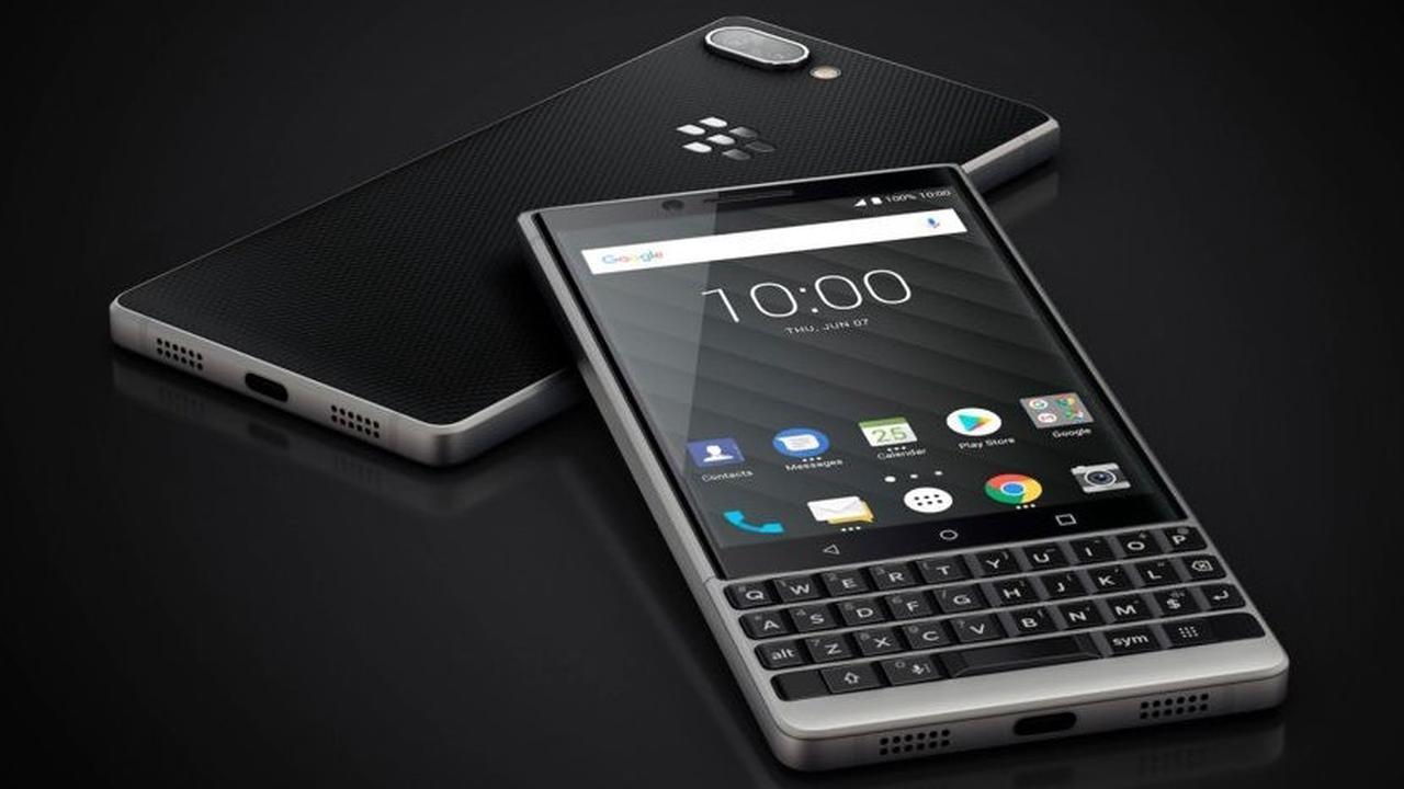BlackBerry revient avec un nouveau smartphone !