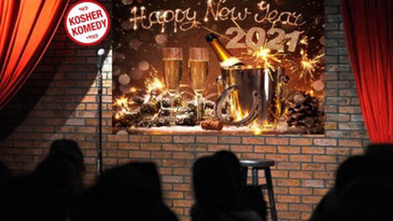 Laugh in the New Year with Kosher Komedy!Live Comedy Show on Zoom