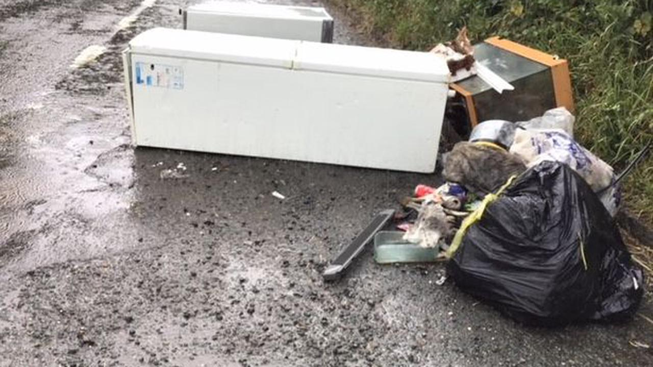 Removal man fined thousands for dumping items on Dartmoor
