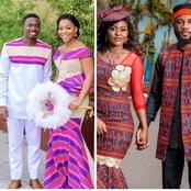 Checkout The Latest Kente And Ankara Styles For Sweet African Couples 2021 (Photos)