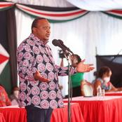 Uhuru Gives Special Advise, Reveals The Only Way One Can Secure a Re-election in Kiambu