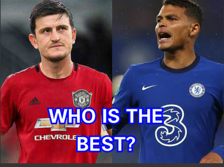 Why Are People Comparing Them, See 3 Reasons Why MAGUIRE Is Better Than Chelsea's THIAGO SILVA