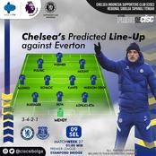 Chelsea predicted lineup aga Everton with Thiago Silva fit to return