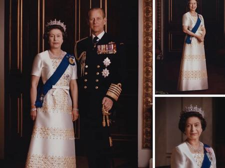 Check Out Lovely Photos Of Queen Elizabeth And Her husband, Four Children, And Eight Grandchildren