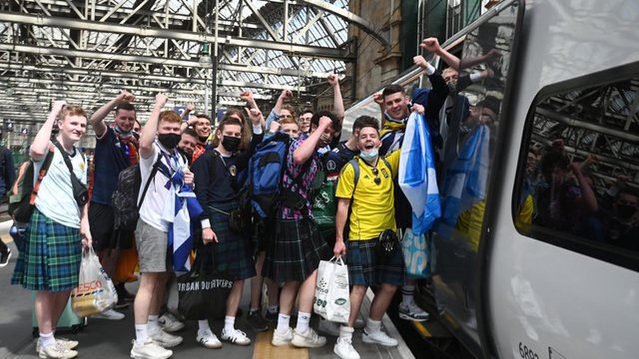 Nicola Sturgeon and Jason Leitch have warned those gathering to watch tonight's match to heed current covid guidelines