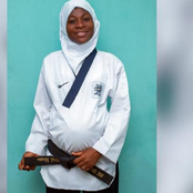 Video: Nigerian Woman Wins Taekwondo Gold Medal While 8 Months Pregnant