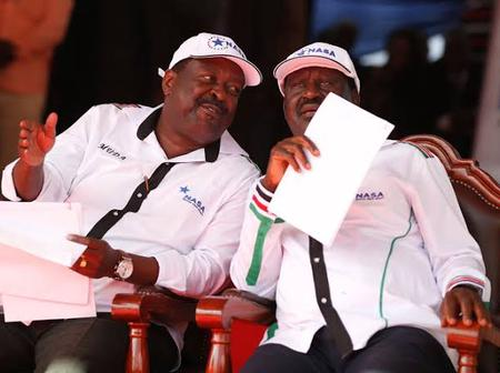 Musalia Should Respect Raila, ANC Has Only 8 Members Or Else We Take Action, Says ODM Mp