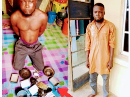 The Man That Was Arrested For Allegedly Kidnapping 15yr-Old Girl, See What Police Saw In His House