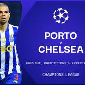Bad News to Tuchel As Chelsea Are Scheduled to Play Both Quarters Against Porto on Away Soil