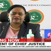 Happening Now: Recruitment Of Chief Justice, Justice Koome Under Probe