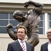 Legends For Life With Their Statues. See Pictures.