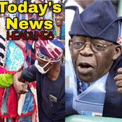 "Today's headlines: Obasanjo Plays With A Masquerade, ""Abstain From Worldly Things"" — Tinubu tells Muslims"