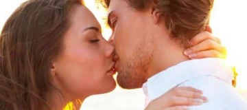 Seven health benefits of kissing, number six will make you kiss more often.