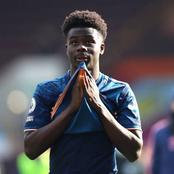 Saka becomes the second youngest player in Arsenal's history to reach 50 appearances