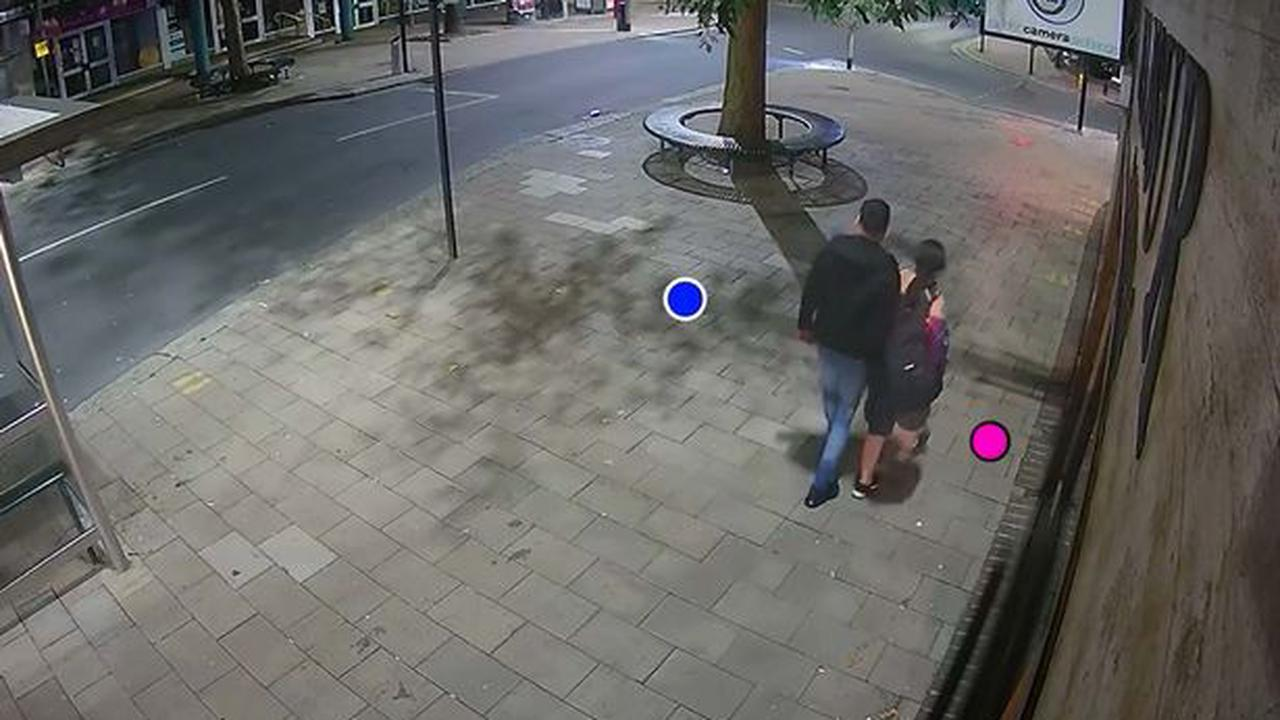 Watch the chilling moment Stoke-on-Trent murderer was caught on CCTV meeting his victim