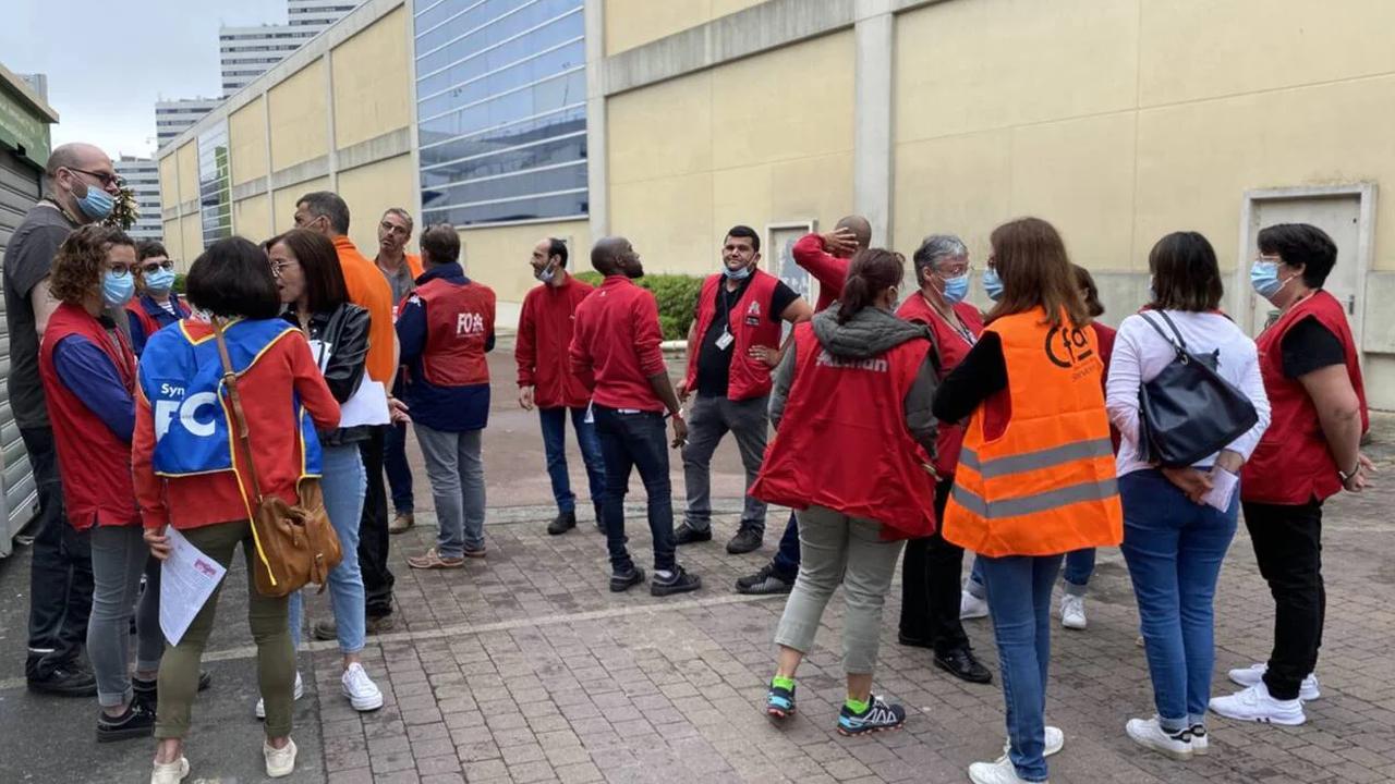 Saint-Herblain.Les salariés d'Auchan en grève