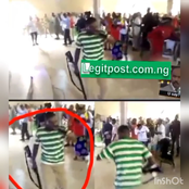 Confusion As a Pastor Brought Gun to Church to Shoot Devil, While Members Came With Broom (Video)
