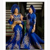 Creative aso ebi designs for classy African ladies