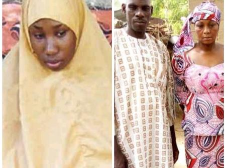 Meet The Parent Of The Christian Girl Who Refuse To Change To Islam In Boko Haram Captivity