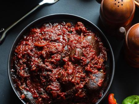 Ofada Stew is A Great Idea For Lunch On Sunday, See How To Make It
