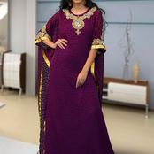 Chiffon Kaftan Styles For Beautiful Ladies To Slay With (Photos)