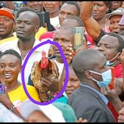 Young Man Steals The Show in Nkubu as He Did This To Ruto