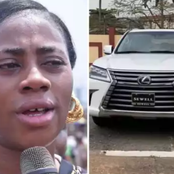 After this woman sold her car for 60 million naira, see what she did that sparked reactions