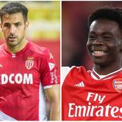Europa League: Cesc Fabregas reacted to Bukayo Saka's brace assist in Arsenal 3-2 win against Benfica