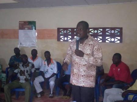 Tournée de mobilisation: Jean Marie Konin mobilise pour la victoire d'Affi N'Guessan