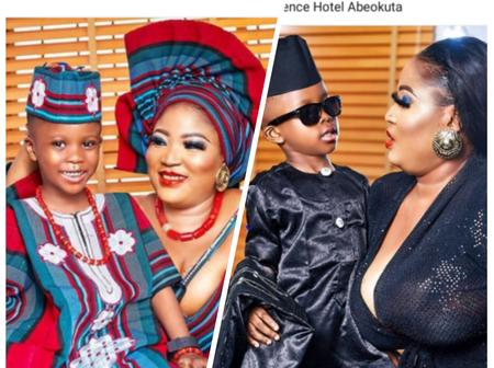 Actress Enitan Abeke Odugbemi Shares Stunning Pictures To Celebrate Her Son's 4th Birthday