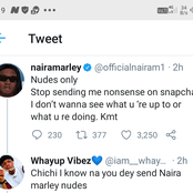 Nudes only, stop sending me nonsense on snapchat - Naira Marley