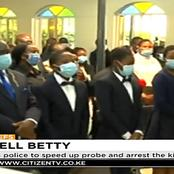 Emotions High As Slain KBC Employee Betty Barasa Who Was Shot Dead By Unknown Gunmen Is Laid To Rest