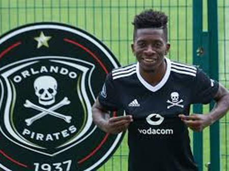 Orlando Pirates announces the arrival of new striker from the DRC