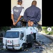Must See: Cops Nabbed For Stealing Cash From CIT Heist Scene After A Shootout With The Suspects.