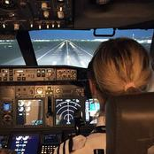 How Do Pilots Fly Airplanes Without Front lights at Night