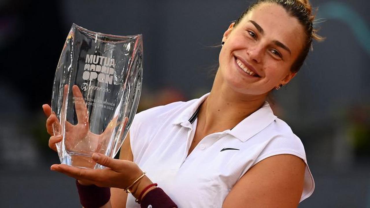 WTA 1000 de Madrid : Sabalenka titrée à Madrid en s'offrant Barty