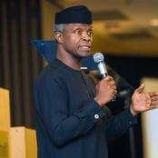 See What The Vice President Said Over The Lekki Toll Gate Massacre That Got People Mad - See Photos