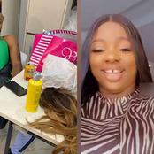 Bbnaija Lockdown Housemate Prince Reacts After Dorathy Announced He Is Her Official Hairdresser.