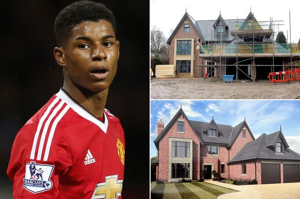 See Photos Of Marcus Rashford S 1 8million Dollars Mansion And Fleet Of Cars Opera News