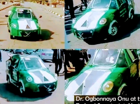 See Photos Of A Beautiful Car Made By An 'Hausa'  Man(Photos)