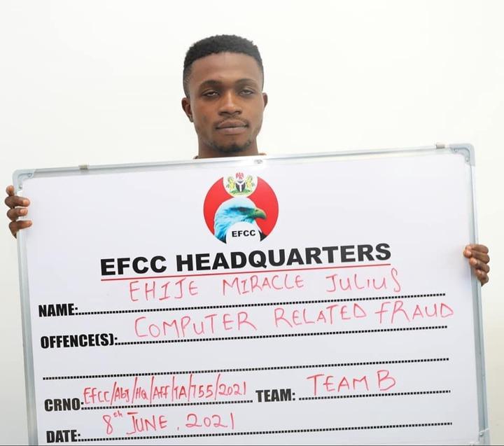 Nine suspected Internet Fraudsters arrested ?in Abuja (Photos)