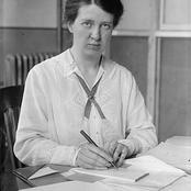 Société/histoire : qui est Mary van Kleeck ? grande figure féminine très engagée du XXe siècle