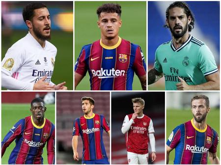Barca and Madrid want to offload 15 players. Which ones should Chelsea, Man U and Arsenal sign?