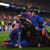 Check out the largest ever UEFA comeback in Camp Nou four years ago