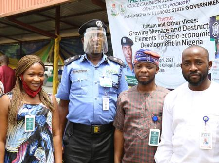 CP Lagos, others launch POCACOV in Lagos State