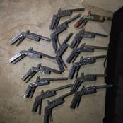 NDLEA arrests two with locally made pistols in Niger