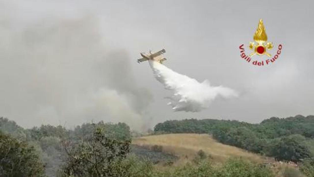 Incendies en Sardaigne: la France et la Grèce envoient quatre Canadair