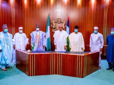 2023: See Top PDP Politicians Who Visited Buhari Today That Sparked Reactions Online